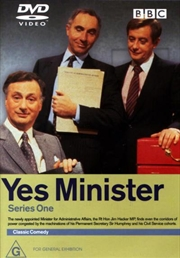 Yes Minister - Series 01 (DVD)