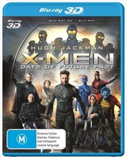 X-Men - Days Of Future Past | 3D + 2D Blu-ray