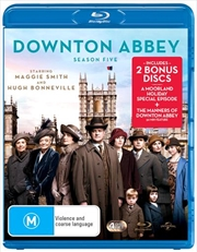 Downton Abbey - Season 5 (BONUS TEA TOWEL)
