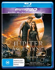 Jupiter Ascending | 3D + 2D Blu-ray + UV