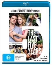 Last Five Years, The | Blu-ray