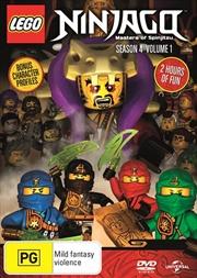 LEGO Ninjago - Masters of Spinjitzu - Series 4 - Vol 1