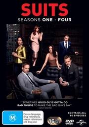 Suits - Season 1-4 | Boxset