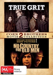 No Country For Old Men / True Grit | Coen Brothers 2 Movie Collection