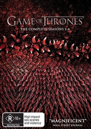 Game Of Thrones - Season 1-4 | Boxset