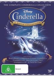 Cinderella - 3 Movie Collection | DVD