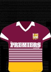 NRL Premiers Collection: Brisbane Bronco
