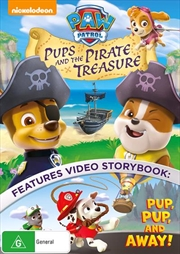 Paw Patrol - Pups And The Pirate Treasure | DVD