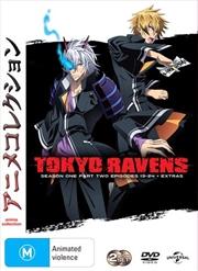Tokyo Ravens - Season 1 - Part 2