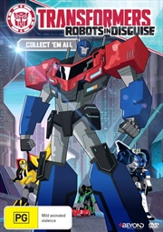 Transformers - Robots In Disguise - Collect 'em All