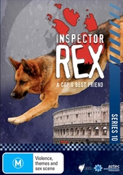 Inspector Rex - Series 10   DVD