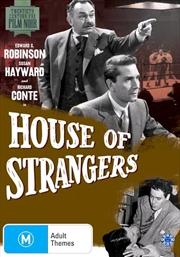 House Of Strangers   20th Century Fox Film Noir