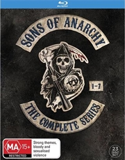 Sons Of Anarchy - Season 1-7 Boxset  | Blu-ray