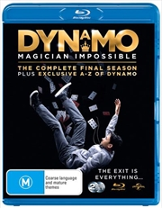 Dynamo - Magician Impossible - Series 4 | A-Z Of Dynamo | Blu-ray