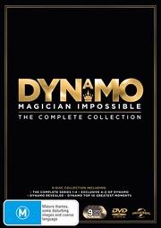 Dynamo - Magician Impossible - Series 1-4 | Dynamo Specials | DVD