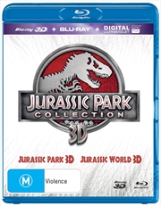 Jurassic Park / Jurassic World | Blu-ray 3D