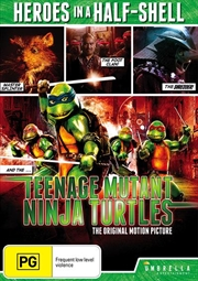 Teenage Mutant Ninja Turtles - The Movie | DVD