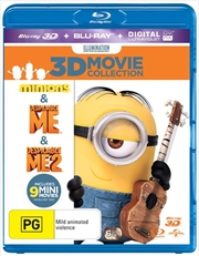 Despicable Me / Despicable Me 2 / Minions | 3D + 2D Blu-ray + UV - Triple Pack
