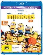 Minions | 3D Blu-ray + UV