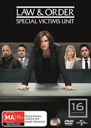Law And Order: Special Victims Unit - Season 16