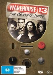 Warehouse 13 - Season 1-5 | Boxset | DVD