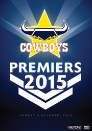 NRL 2015 Premiers - North Queensland Cowboys