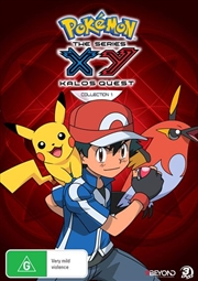 Pokemon - XY Kalos Quest - Collection 1 | DVD