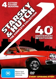 Starsky and Hutch - Season 1-4 | Series Collection