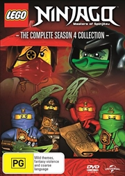 LEGO Ninjago - Masters of Spinjitzu - Series 4 | DVD