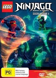 LEGO Ninjago - Masters of Spinjitzu - Series 4 - Vol 4
