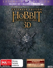 Hobbit - The Battle Of The Five Armies - Extended Edition | 3D Blu-ray + UV, The
