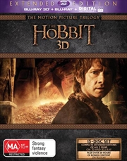 Hobbit Trilogy - Extended Edition | Blu-ray 3D
