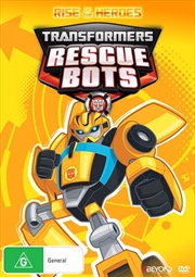 Transformers Rescue Bots - Rise Of The Heroes | DVD