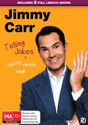 Jimmy Carr - Telling Jokes and Making People Laugh