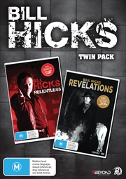 Bill Hicks: Relentless/Revelations Twin Pack