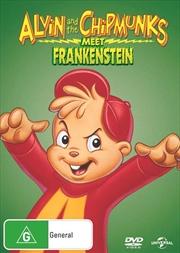 Alvin And The Chipmunks Meet Frankenstein Big Face | DVD