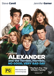 Alexander And The Terrible, Horrible, No Good, Very Bad Day | DVD