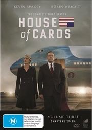 House Of Cards - Season 3 | DVD