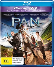 Pan | 3D Blu-ray + UV