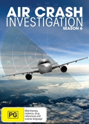 Air Crash Investigations - Season 6 | DVD
