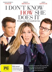 I Don't Know How She Does It | DVD