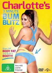 Charlotte's 3 Minute Bum Blitz | DVD