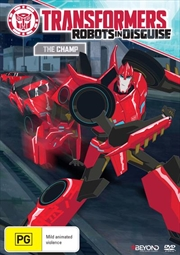 Transformers - Robots In Disguise - The Champ | DVD