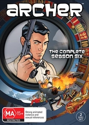 Archer - Season 6 | DVD