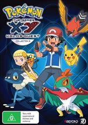 Pokemon - XY Kalos Quest - Collection 2