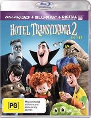 Hotel Transylvania 2 | 3D + 2D Blu-ray + UV