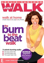 Leslie Sansone: Walk At Home: The Burn to the Beat Walk | DVD