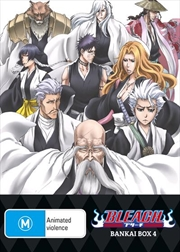 Bleach Bankai - Box 4 - Eps 304-366 - Limited Edition
