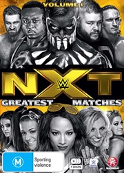 WWE - NXT - Greatest Matches - Vol 1 | DVD