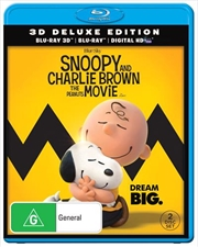 Snoopy And Charlie Brown - The Peanuts Movie - Deluxe Edition | 3D + Blu-ray + UV